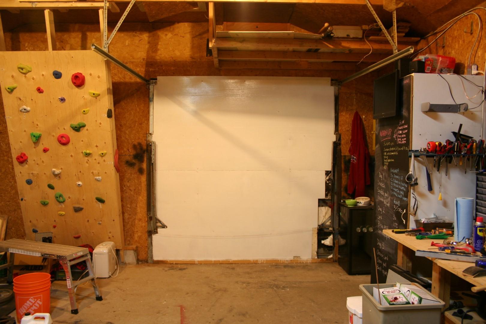 Crossfit garage gym diy pull up bar youtube